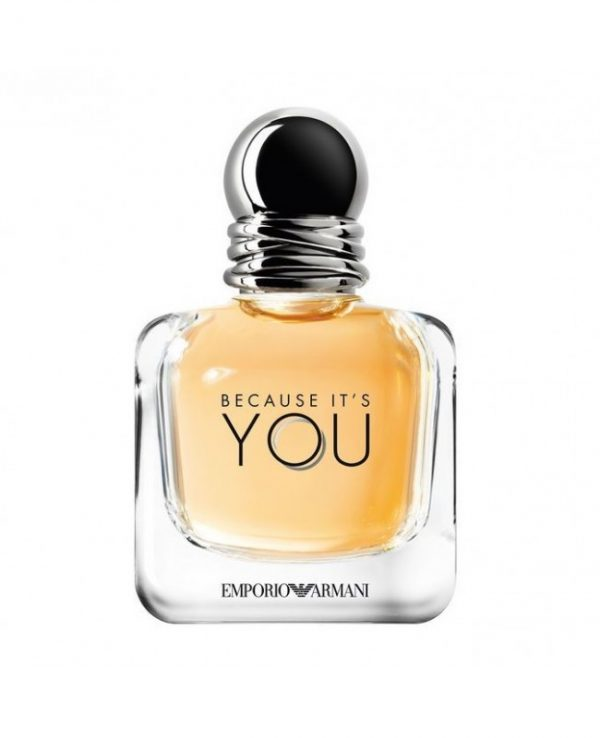 emporio armani because it s you 100 ml tester original